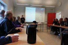 Foredrag i undervisningslokalet